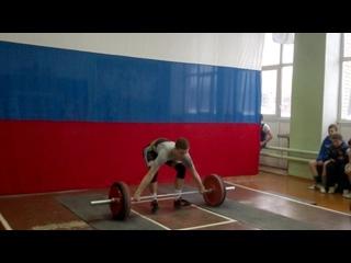 Дмитрий Масленков-01 г/р-рывок 100 кг. г. Струнино  г.