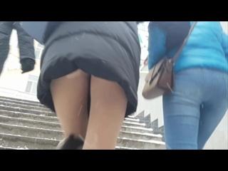 Kazan Upskirt Overse Pantyhose Tights Girl Sexy Подсмотрено Девочки в колготках Сексуальные ножки Под Юбочкой Попки Трусики