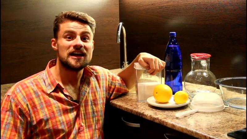 Как сделать домашний лимонад из апельсина и лимона