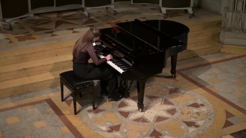 848 J S Bach Prelude and Fugue in C sharp major BWV 848 Das Wohltemperierte Klavier 1 N 3 Susanna Braun piano