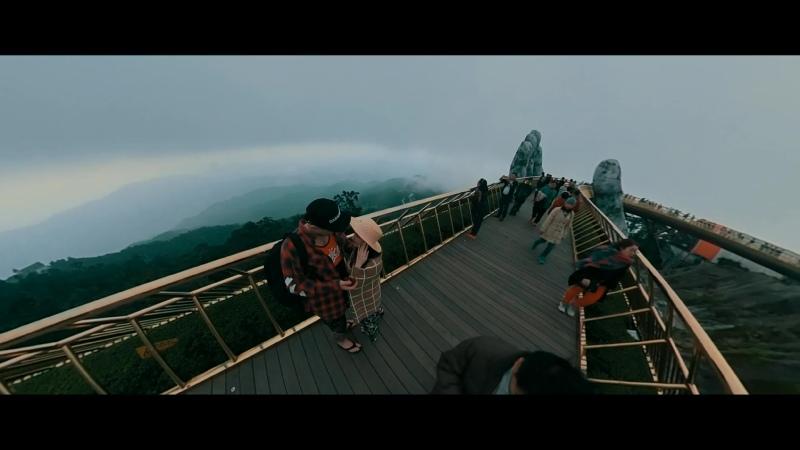 Golden Bridge Vietnam Ba Na Hills DaNang