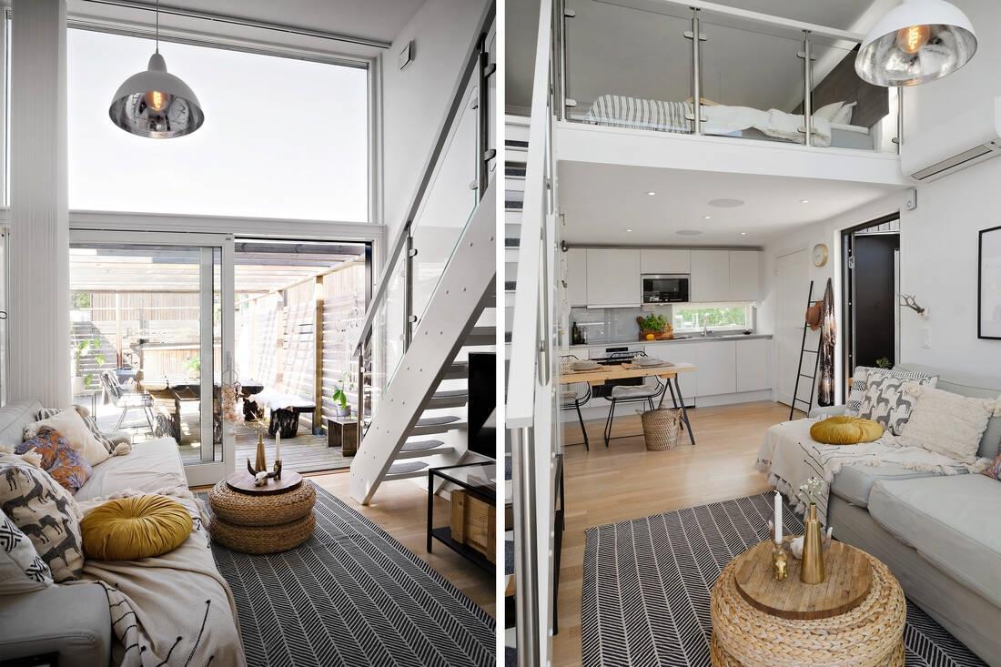 Маленький шведский дом-студия 20 кв.