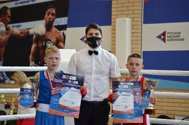 Юные озерские боксёры вернулись из Коркино с двумя золоты...