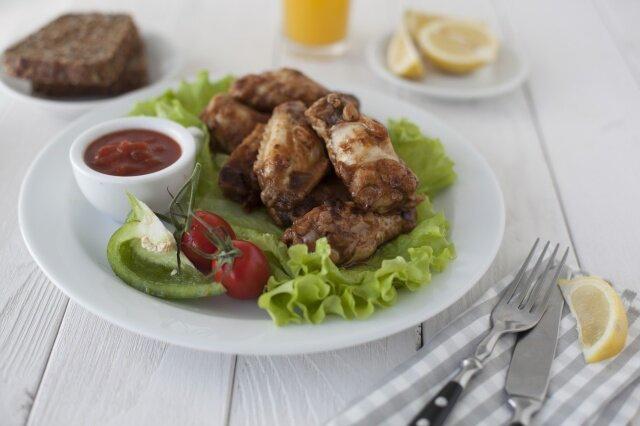 Куриные голени и крылышки с овощами! Мультиварка и простые рецепты для мультиварки