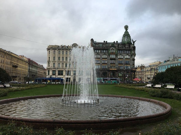 Водоканал Петербурга отключит городские фонтаны в ...