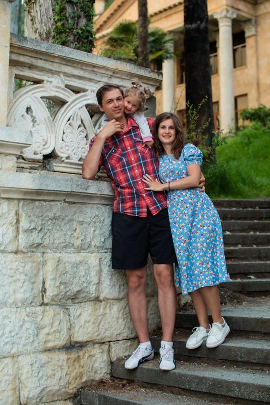 Семейная фотосессия в Гагре - Фотограф MaryVish.ru
