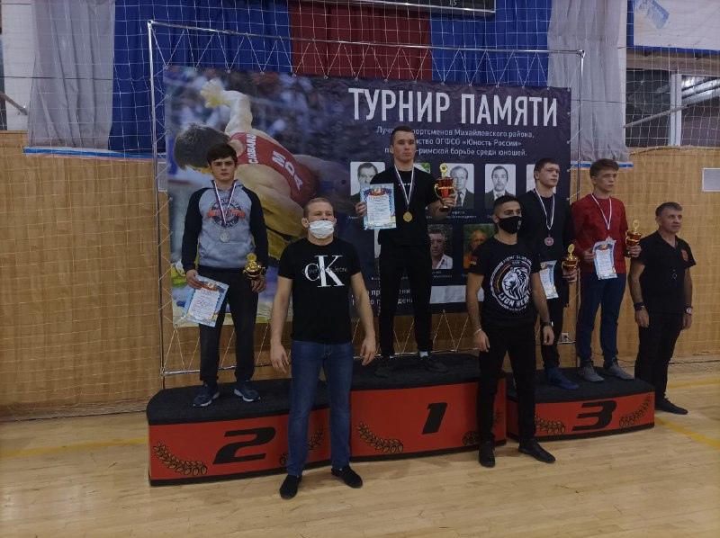 Спортсмены города Донецка стали призёрами соревнований по греко-римской борьбе в Рязани