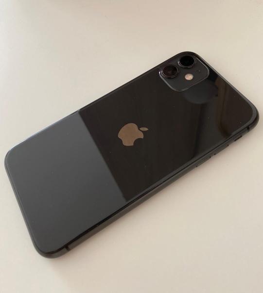 Продам iPhone 11 128 gb чёрный. . Стекло пленка сз...