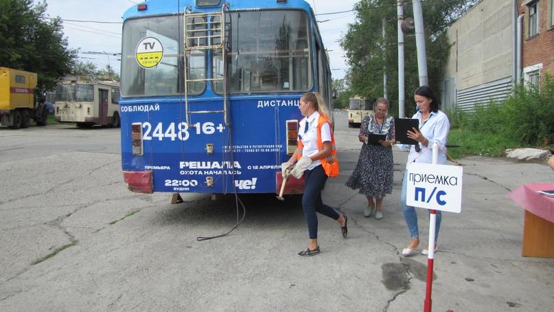 Конкурс профессионального мастерства среди водителей троллейбуса— 2021., изображение №40
