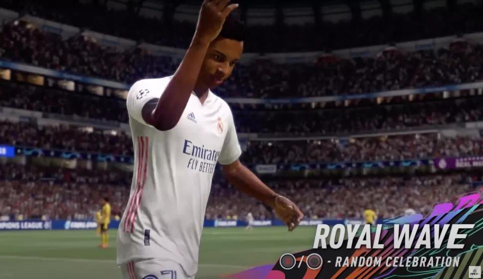 FIFA 21 жесты