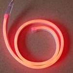 Гибкий Неон GLS-2835 120 св/м 12В IP67 красный