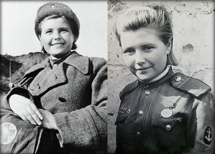 История юной девушки из России