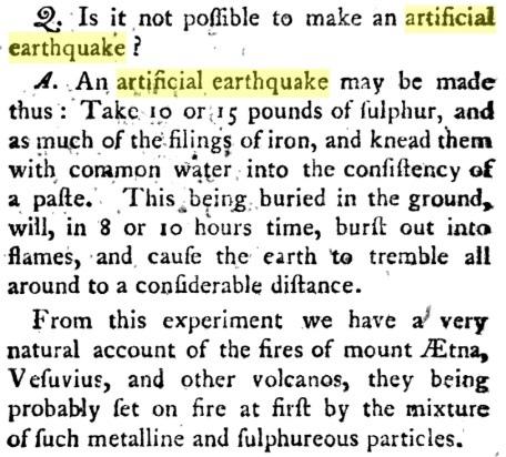 18-19 века: искусственные землетрясения, вулканы и цунами, изображение №11