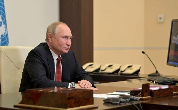 Путин призвал россиян активно прививаться от ковид...