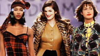Back to the 90's: Supermodels x Todd Oldham