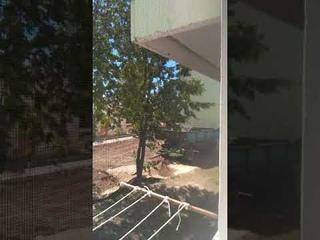 ЖКХ г.Агидель так занимается ремонтом крыши без соблюдения техники безопасности(1)