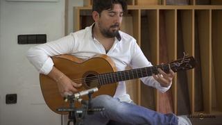 """""""Maestro  Lucía"""" Antonio Rey in David guitars (taranta)"""