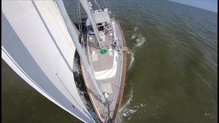 ep47 - Sailing Chesapeake - Betterton to Edgewater - Hallberg-Rassy 54 Cloudy Bay - Oct 2018