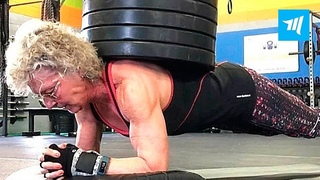 Strongest 70-year-old Grandma - Mary Duffy   Muscle Madness