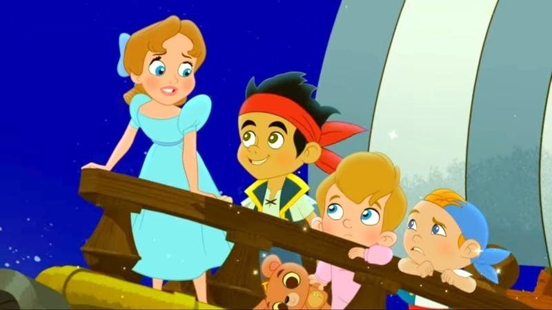 Джейк и Пираты Волшебная книга ТВ версия Мультфильм Disney
