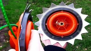 Мощная Катушка-Диск для триммеров (BAX garden tools MT-06)