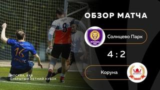 Солнцево Парк 4-2 Коруна, обзор матча