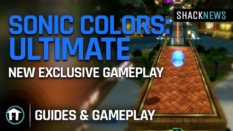 Sonic Colors Ultimate NEW Exclusive Gameplay