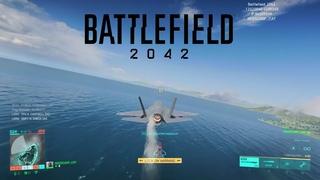 Battlefield 2042 playtest Fighter Jet gameplay