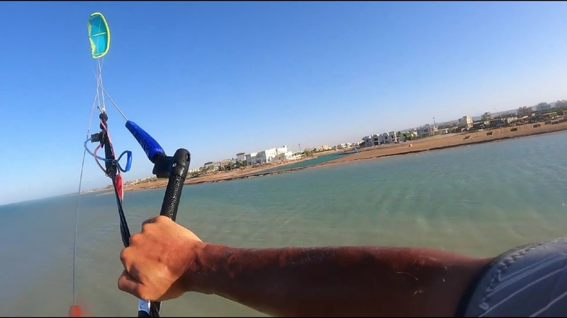 Sand spit jumping by Korn in ElGouna Egypt