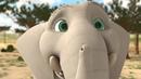 Очень смешной мультик слон играет для детей очень интересно 2019 HD