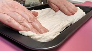 СМЕШАЙТЕ ВОДУ С МУКОЙ, вы будете восторге от результата! Хлеб ФОКАЧЧА просто и вкусно