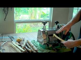 zj130 manual sugar cane juice extractor similar machine working process
