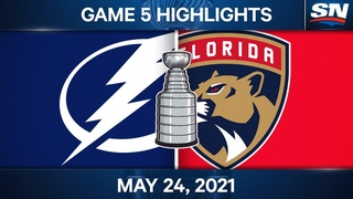 NHL Game Highlights | Lightning vs. Panthers, Game 5 - May 24, 2021