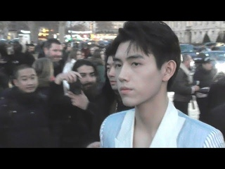 Arthur Chen / Chen Feiyu @ Paris Fashion Week 18 january 2019 show Dior