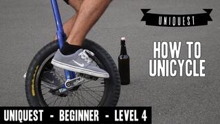 Beginner Unicycling - UNIQUEST - Level 4