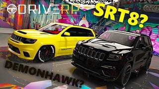 JEEP SRT8 VS DEMONHAWK   ТАКОГО НИКТО НЕ ОЖИДАЛ   $ БЕСПЛАТНО   DRIVE RP   GTA 5 RP   RAGE MP