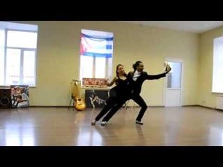 "Son Cubano ""El Manisero"" | Yoanis Meneses & Olga Samoilova"